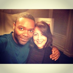 With actor Dave Oyelowo