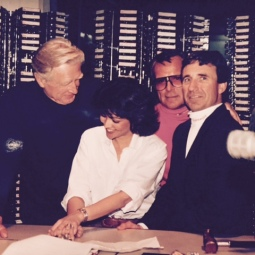 Lloyd Bridges pays a visit to KYA